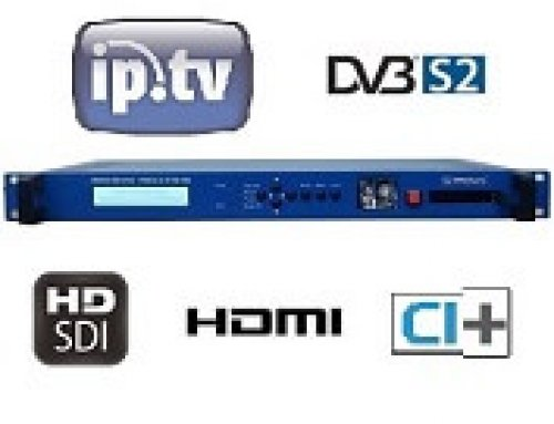 DVB-S2 and IPTV IRD :: IRENIS IRD-6100