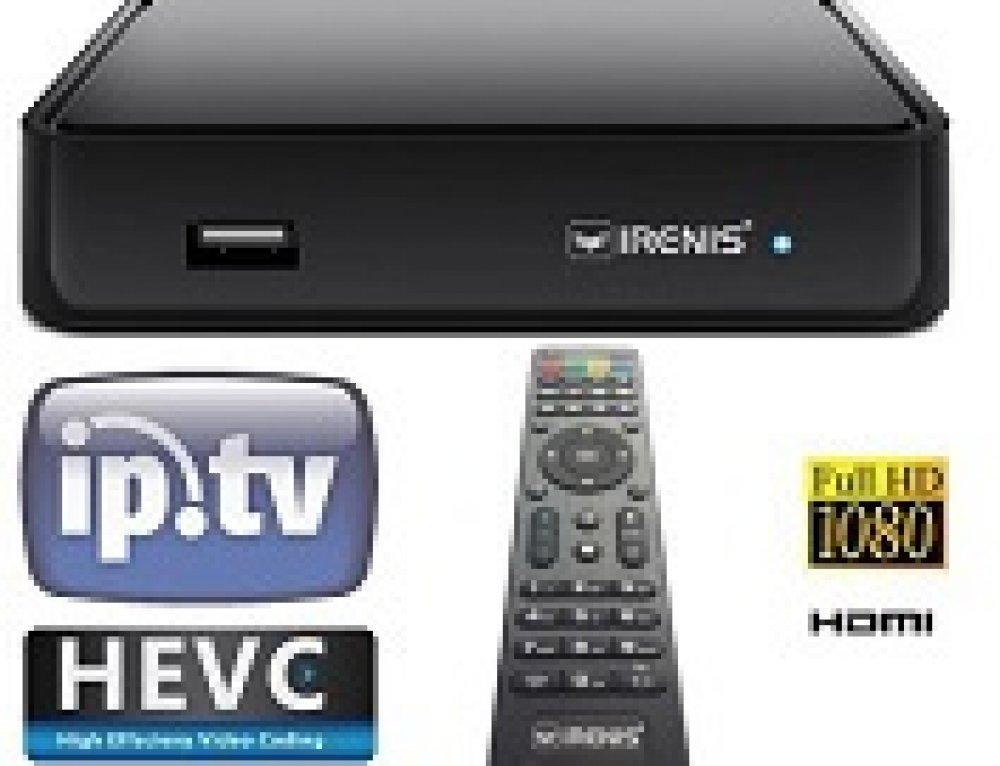 IRENIS 6500+HEVC Set-Top Box