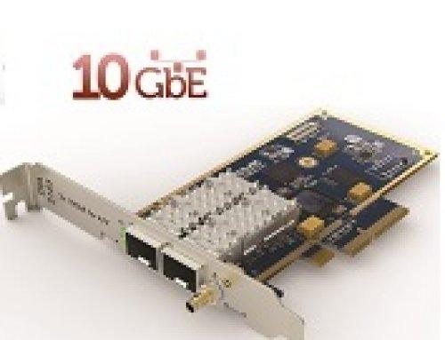Çift 10GbE PCIe network kartı