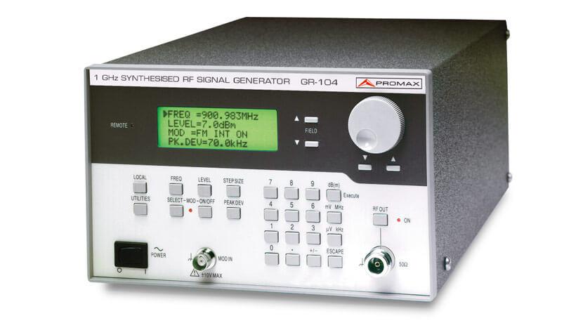 PROMAX GR 104 1 GHz RF Sinyal Jeneratörü