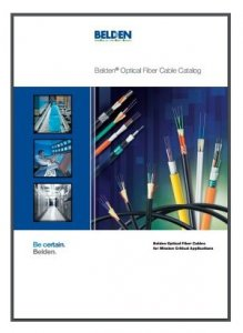 BELDEN optical fibre cable catalog