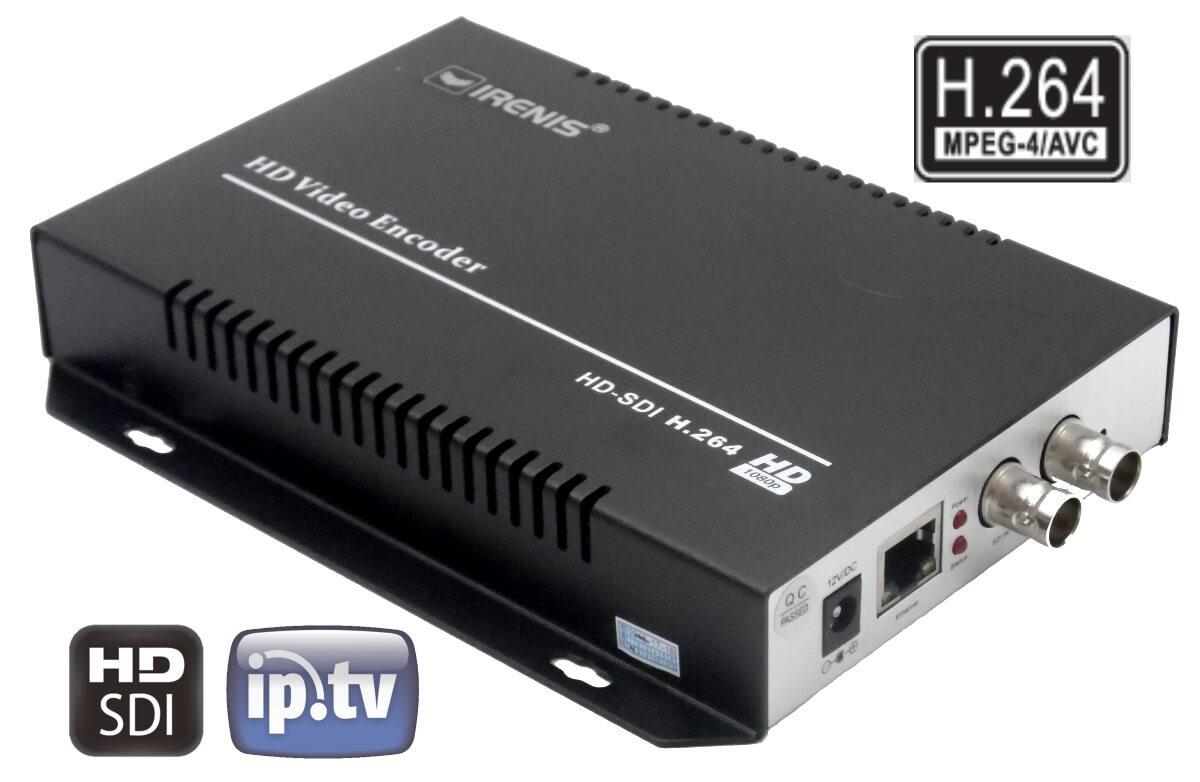 IPTV Streamer & Encoder with SDI Input :: IRENIS SDE-264