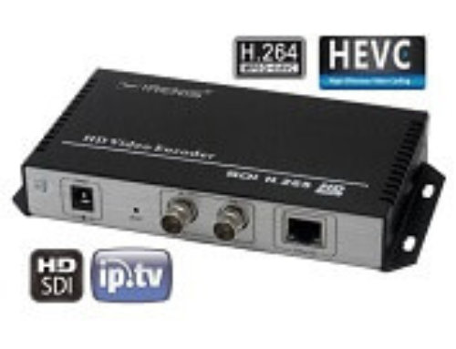IPTV Streamer & HEVC Encoder with SDI Input :: IRENIS SDE-265