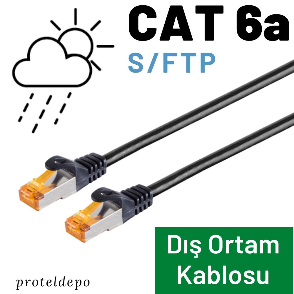 IRENIS CAT6 S/FTP Açık Hava Outdoor Kablosu
