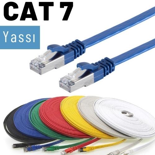 IRENIS CAT7 Yassı FTP Ethernet Kablosu